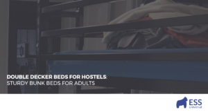 Double Decker Beds for Hostels: Sturdy Bunk Beds for Adults