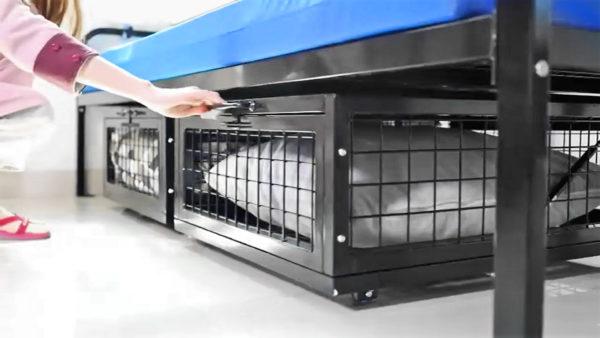 Metal Under Bed Storage Locker
