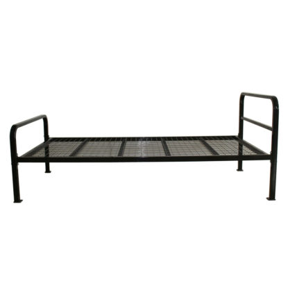 Single Metal Bed Frame for Commercial Use