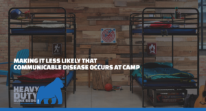 Making It Less Likely that Communicable Disease Occurs at Camp